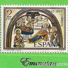 Timbres: EDIFIL 2115. NAVIDAD - PINTURAS DE LA BASÍLICA DE SAN ISIDORO, LEÓN. (1972).** NUEVO SIN FIJASELLOS.. Lote 186010352