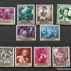 Sellos: FORTUNY, MARIANO. PINTOR. ESPAÑA. EMIS. 25-3-1968. Lote 186203475