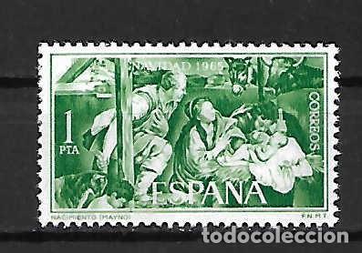 NAVIDAD´65 (PINTURA DE MAYNO) . ESPAÑA. EMIT. 1-12-1965 (Sellos - España - II Centenario De 1.950 a 1.975 - Nuevos)