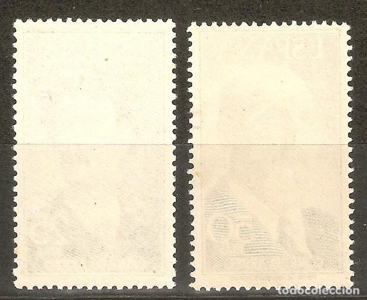 Sellos: 1955 FORTUNY Y TORRES QUEVEDO EDIFIL 1164/5** SIN FIJASELLOS - Foto 2 - 165170694