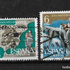 Sellos: ESPAÑA 1961 EDIFIL 1362-1361 USADO - 3/6. Lote 187533621