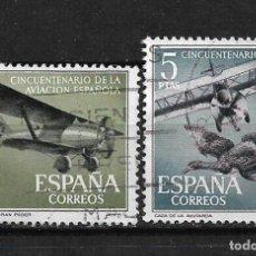 Sellos: ESPAÑA 1961 EDIFIL 1403-1404 USADO - 3/6. Lote 187533725