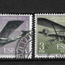 Sellos: ESPAÑA 1961 EDIFIL 1401-1404 USADO - 3/6. Lote 187533757