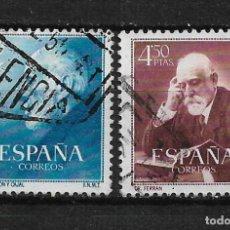 Sellos: ESPAÑA 1952 EDIFIL 1119/1120 USADO - 3/5. Lote 187534533