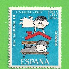 Timbres: EDIFIL 1801. PRO ''CÁRITAS'' ESPAÑOLA. (1967).** NUEVO SIN FIJASELLOS.. Lote 187576001
