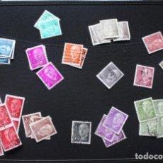Sellos: LOTE 70 SELLOS GENERAL FRANCO AÑOS 1955-56 Y 1974-75. Lote 188480177
