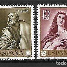 Sellos: JOSE RIBERA *EL ESPAÑOLETO* PINTOR. ESPAÑA. EMIS. 24-3-1963. Lote 188548645