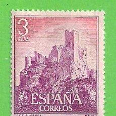 Timbres: EDIFIL 1745. CASTILLOS DE ESPAÑA - ALMANSA, ALBACETE. (1966).** NUEVO SIN FIJASELLOS.. Lote 189255422
