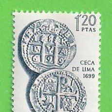 Timbres: EDIFIL 1753. FORJADORES DE AMÉRICA - CECA DE LIMA. (1966).** NUEVO SIN FIJASELLOS.. Lote 189264902