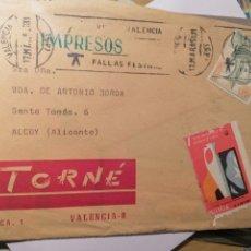 Sellos: 1@FERIA MONOGRÁFICA DE CERÁMICA Y VIDRIO 1965 VALENCIA VIÑETA ORIGINAL DEL EVENTO. Lote 189427188