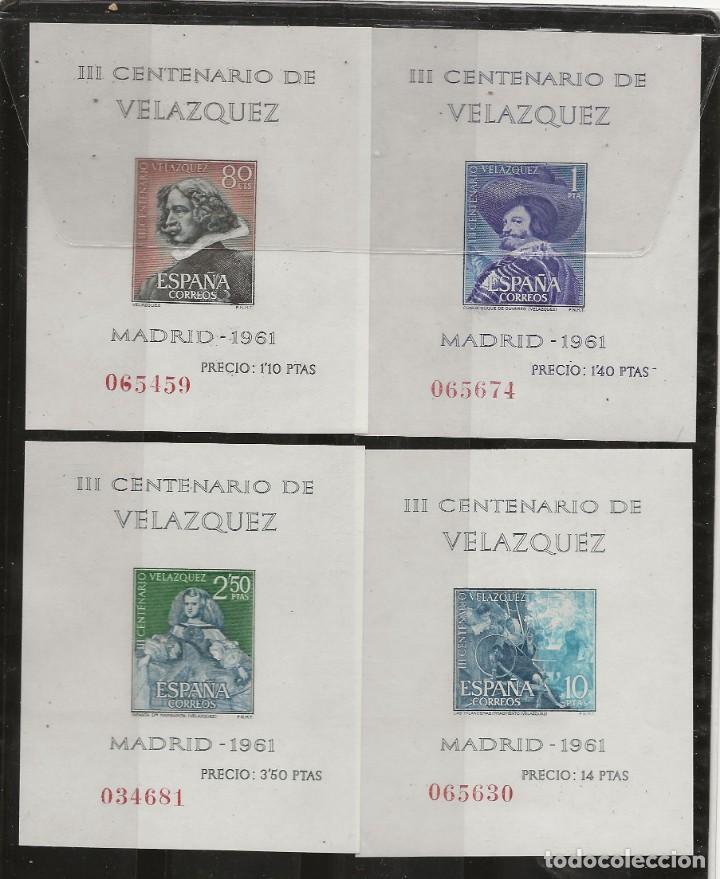 R37.G7/ ESPAÑA EN NUEVO, 1961, MNH /**/ EDF. 1344/47, VELAZQUEZ, CAT. 36,00€ (Sellos - España - II Centenario De 1.950 a 1.975 - Nuevos)