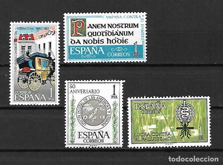 CONMEMORACIONES VARIAS. EMIS. AÑOS 1962/3 (Sellos - España - II Centenario De 1.950 a 1.975 - Nuevos)