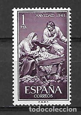 JOSÉ GINÉS (1768/1823) ESCULTOR.. ESPAÑA. EMIT. 1-12-1961 (Sellos - España - II Centenario De 1.950 a 1.975 - Nuevos)
