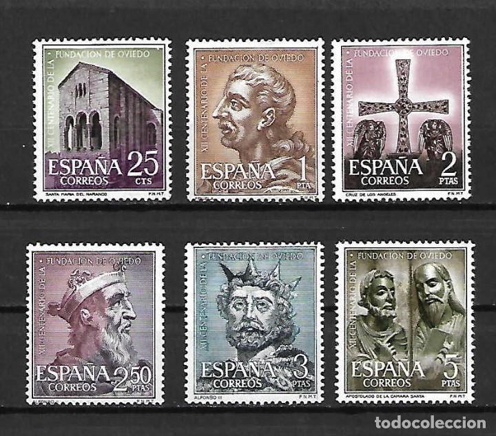 FUNDACIÓN DE OVIEDO. EMIT. 27-11-1961 (Sellos - España - II Centenario De 1.950 a 1.975 - Nuevos)