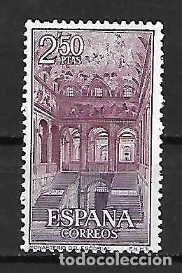 MONASTERIO DE EL ESCORIAL. ESPAÑA. EMIT. 31-10-1961 (Sellos - España - II Centenario De 1.950 a 1.975 - Nuevos)