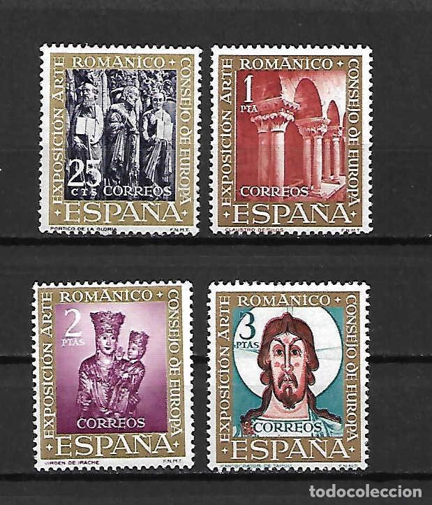 ARTE ROMÁNICO. ESPAÑA. EMIT. 24-7-1961 (Sellos - España - II Centenario De 1.950 a 1.975 - Nuevos)