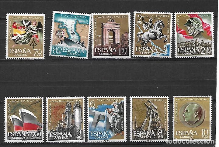 XXV ALZAMIENTO NACIONAL. ESPAÑA. EMIT. 10-7-1961 (Sellos - España - II Centenario De 1.950 a 1.975 - Nuevos)