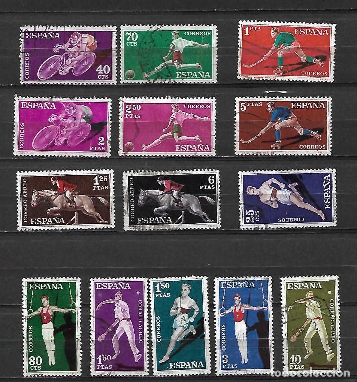 DEPORTES. ESPAÑA. EMIT. 31-10-1960 (Sellos - España - II Centenario De 1.950 a 1.975 - Usados)