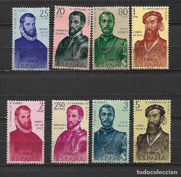 FORJADORES DE AMÉRICA. ESPAÑA. EMIT. 12-10-1960 (Sellos - España - II Centenario De 1.950 a 1.975 - Nuevos)