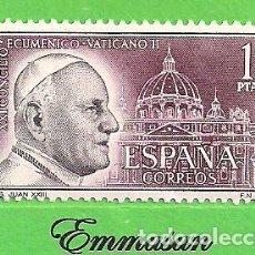 Sellos: EDIFIL 1480. CONCILIO ECUMÉNICO VATICANO II - JUAN XXIII. (1962).** NUEVO SIN FIJASELLOS.. Lote 191089136