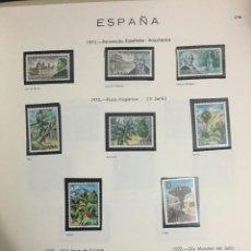Sellos: SELLOS ESPAÑA AÑO 1973 NUEVOS, COMPLETO, EDIFIL 2117 AL 2166, EN HOJAS ALBUM FIVA. Lote 275286028