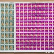 Sellos: 1972-ESPAÑA EDIFIL 2090/91 MNH** EUROPA-CEPT - SERIE EN PLIEGOS COMPLETOS - VC: 196 €. Lote 192540213