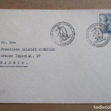 Sellos: CONGRESO INTERNACIONAL UNION LATINA 1954 MADRID. Lote 193987228