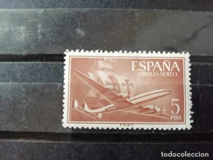 EDIFIL 1177 -VALOR FACIAL 5 PTS-AÑO 1955 56, DE LA SERIE: SUPERCONSTELLATION Y NAO SANTA MARIA (Sellos - España - II Centenario De 1.950 a 1.975 - Nuevos)