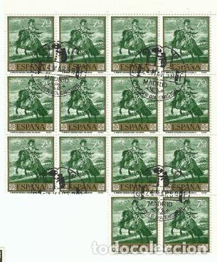14 SERIES COMPLETAS PRIMERA EDICIÓN SELLOS ESPAÑA 1959 - PINTOR VELÁZQUEZ - 10 VALORES (Sellos - España - II Centenario De 1.950 a 1.975 - Nuevos)
