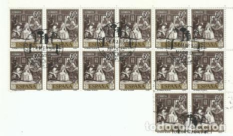 Sellos: 14 Series completas Primera Edición SELLOS ESPAÑA 1959 - PINTOR VELÁZQUEZ - 10 VALORES - Foto 3 - 194316817