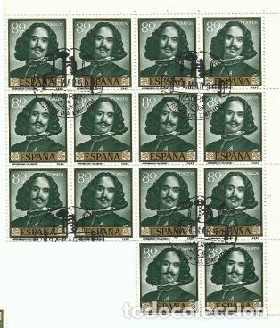 Sellos: 14 Series completas Primera Edición SELLOS ESPAÑA 1959 - PINTOR VELÁZQUEZ - 10 VALORES - Foto 9 - 194316817