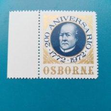 Sellos: SELLO OSBORNE 200 ANIVERSARIO 1772-1972 ESPAÑA. Lote 194384967