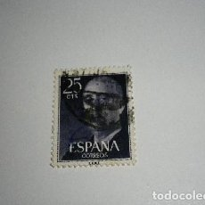 Sellos: SELLO DE 25 CÉNTIMOS DE FRANCO USADO. Lote 194530691
