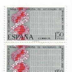Sellos: 3 SELLOS USADOS DE 1969- SERIE VI CONGRESO EUROPEO DE BIOQUIMICA- EDIFIL 1920-. Lote 194719815