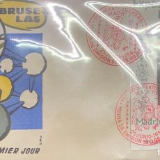 Sellos: ESPAÑA SOBRES PRIMER DÍA EXFILNA 1958. Lote 194767533