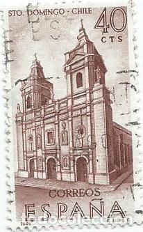 Sellos: LOTE DE 11 SELLOS USADOS DE 1969 SERIE FORJADORES DE AMERICA EDIFIL 1939- STO DOMINGO DE CHILE - Foto 3 - 194875087