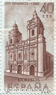 Sellos: LOTE DE 11 SELLOS USADOS DE 1969 SERIE FORJADORES DE AMERICA EDIFIL 1939- STO DOMINGO DE CHILE - Foto 5 - 194875087