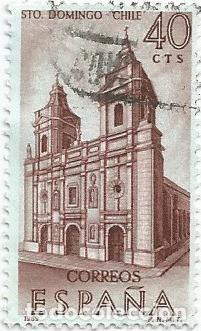 Sellos: LOTE DE 11 SELLOS USADOS DE 1969 SERIE FORJADORES DE AMERICA EDIFIL 1939- STO DOMINGO DE CHILE - Foto 8 - 194875087