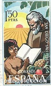 Sellos: LOTE DE 7 SELLOS USADOS DE 1969 DE LA SERIE FUNDACION DE SAN DIEGO-CALIFORNIA- EDIFIL 1932- - Foto 7 - 194877433