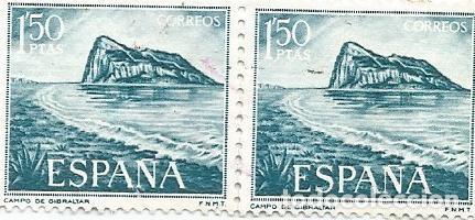 Sellos: LOTE DE 62 SELLOS USADOS DE 1969- SERIE PRO TRABAJADORES ESPAÑOLES DE GIBRALTAR-EDIFIL 1934 Y 1935 - Foto 10 - 194878227