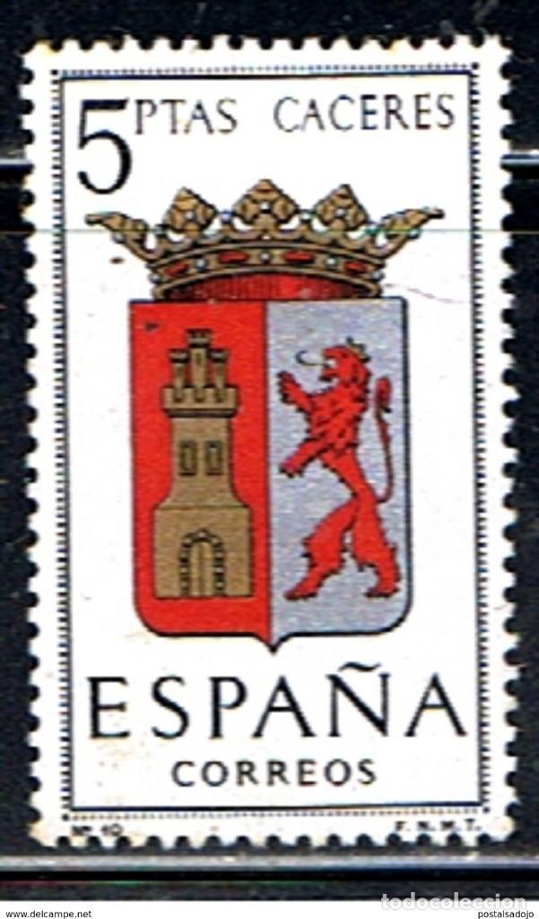 ESPAÑA // EDIFIL 1415 // 1962 ... ESCUDO DE PROVINCIAS . CACERES .. NUEVO (Sellos - España - II Centenario De 1.950 a 1.975 - Nuevos)
