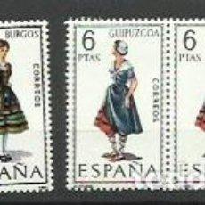 Sellos: ESPAÑA 1967/1775 Y 1968/1848 - TRAJES REGIONALES - PAREJA . Lote 194909143