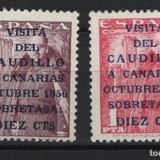 Sellos: R35.BAUL:2/ ESPAÑA 1951, EDIFIL 1088/89 MNH**, GENERAL FRANCO. Lote 194946441