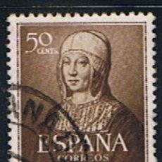 Sellos: ESPAÑA // EDIFIL 1092 // 1951 ... USADO. Lote 194964981