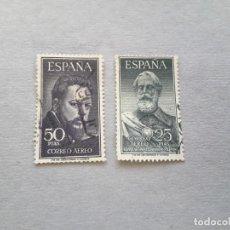 Sellos: SERIE COMPLETA DE LEGAZPI Y SOROLLA. 1953. EDIFIL 1124/25. USADOS . Lote 195019460