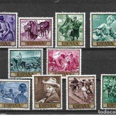 Sellos: JOAQUÍN SOROLLA. PINTOR. ESPAÑA. EMIS. 24-3-19645. Lote 195064907
