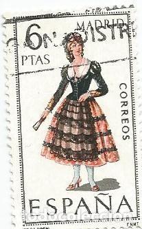 LOTE DE 9 SELLOS USADOS DE 1969- SERIE TRAJES TIPICOS-VER RELACION- TAMBIEN POR UNIDADES (Sellos - España - II Centenario De 1.950 a 1.975 - Usados)