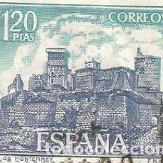 Sellos: LOTE DE 17 SELLOS USADOS DE 1970- SERIE CASTILLOS DE ESPAÑA- EDIFIL 1977,1978 Y 1980 . Lote 195185612