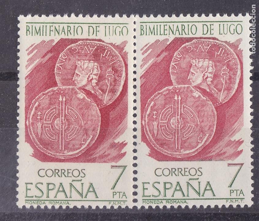 LL3- BIMILENARIO LUGO ** SIN FIJASELLOS VARIEDAD (Sellos - España - II Centenario De 1.950 a 1.975 - Nuevos)