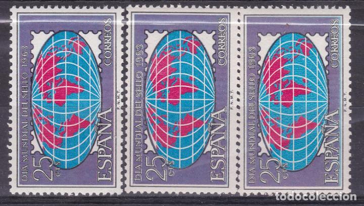 Sellos: LL3-Dia del Sello 1963 x 2 Series ** Sin Fijasellos VARIEDADES - Foto 3 - 195327838
